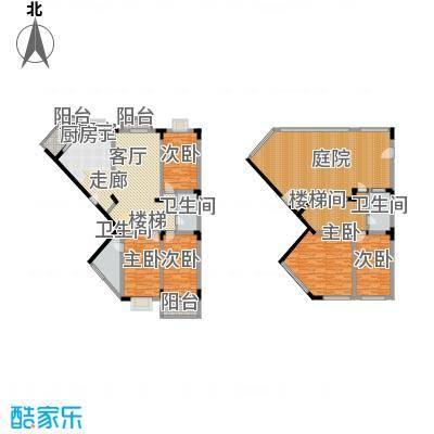 名仕达花园243.88㎡一期S房型(现面积24388m户型
