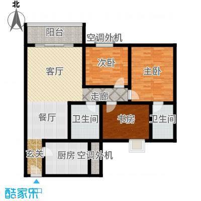中南石油局单位房122.00㎡面积12200m户型