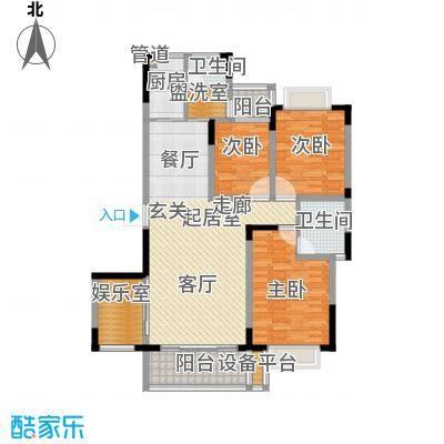 西城公寓148.00㎡面积14800m户型