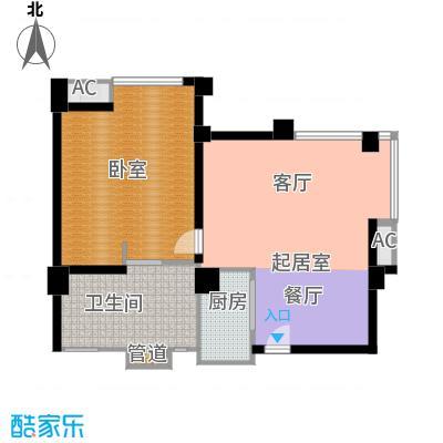 第六田园优仕家园125.00㎡面积12500m户型