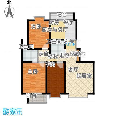 天江格调花园148.88㎡面积14888m户型