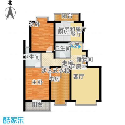天江格调花园147.36㎡面积14736m户型