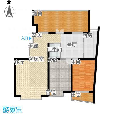 天江格调花园115.77㎡面积11577m户型