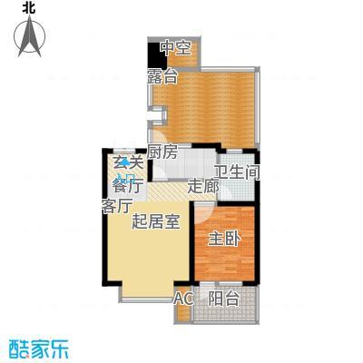 天江格调花园73.93㎡面积7393m户型