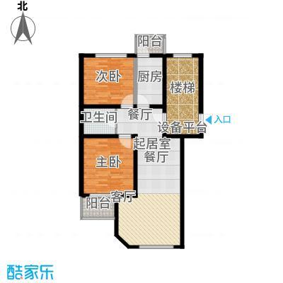 燕宇艺术家园K标准层户型