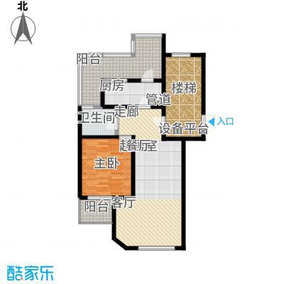 燕宇艺术家园K1户型