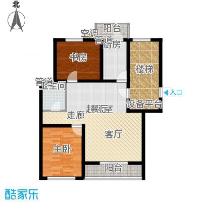 燕宇艺术家园N1户型