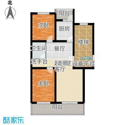 燕宇艺术家园Q标准层户型