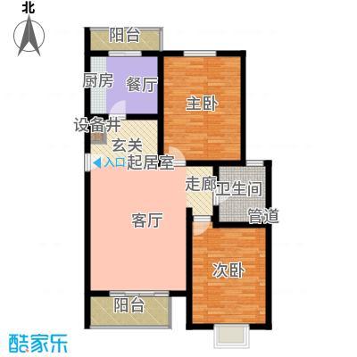 宝龙湾家园108.08㎡P面积10808m户型