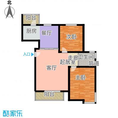 宝龙湾家园115.70㎡J面积11570m户型