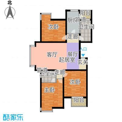 宝龙湾家园153.30㎡M面积15330m户型