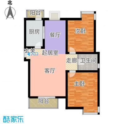 宝龙湾家园110.48㎡K房型面积11048m户型