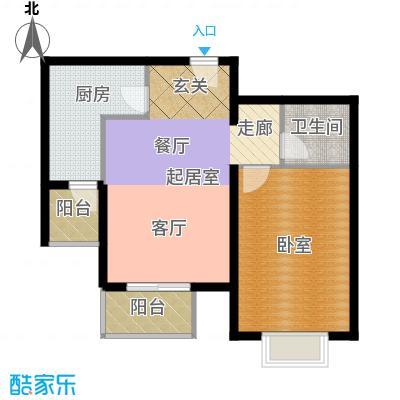 宝龙湾家园67.00㎡R面积6700m户型
