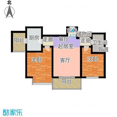 宝龙湾家园105.03㎡O面积10503m户型