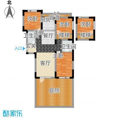众里佰都105.00㎡一期12号楼标准面积10500m户型