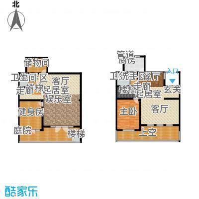 海川园368.00㎡24、26、27、29号楼标准层A1户型