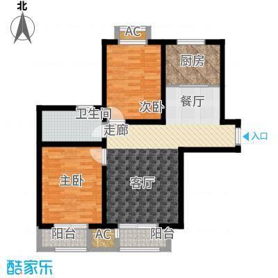 欧美风情小镇95.50㎡高层标准层A01/A04/B01户型