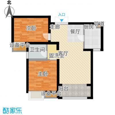 中交启航嘉园91.00㎡高层标准层C1户型