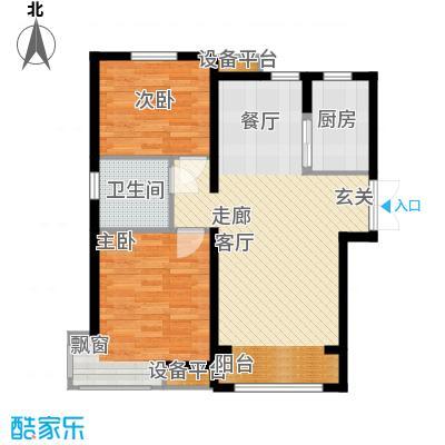 中交启航嘉园92.00㎡高层标准层C3户型