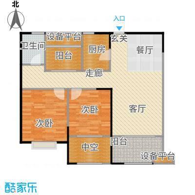 宏江中央广场89.00㎡一期A-4户型