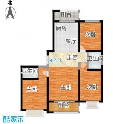 枫景湾家园164.55㎡高层5号楼标准层02户型