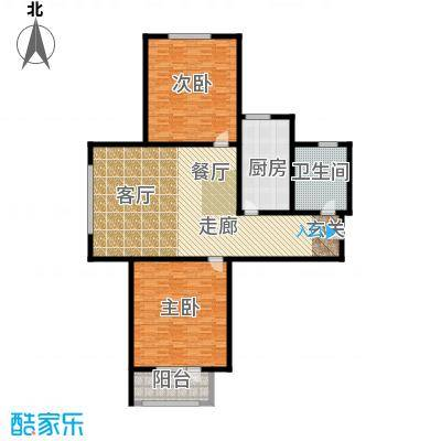 中铁四季公馆168.39㎡高层标准层C1户型