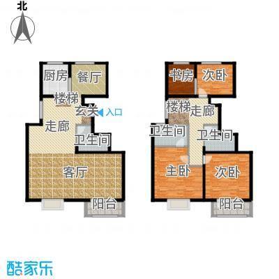 中铁四季公馆96.90㎡高层标准层A1户型