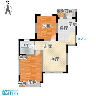 枫尚河院90.36㎡15、28、29号楼2-4-14-16层a户型