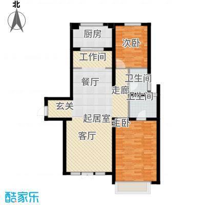 宜和澜岸112.00㎡高层A4户4号楼1区首层户型