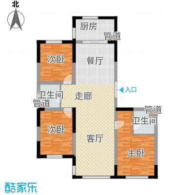 万顺空港融和广场雅仕阁公寓150.75㎡小高层标准层2-9户型