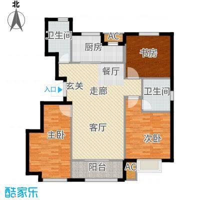 旭辉朗悦湾112.00㎡洋房标准层E户型