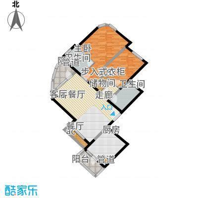 仁恒海河广场116.27㎡面积11627m户型