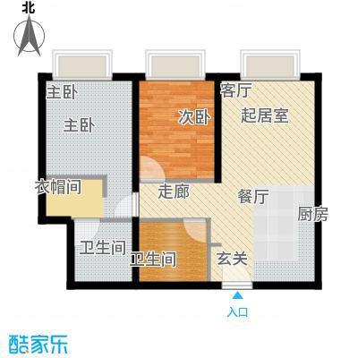 天津大悦城悦府Ⅱ期102.10㎡3号楼6-25层03户型