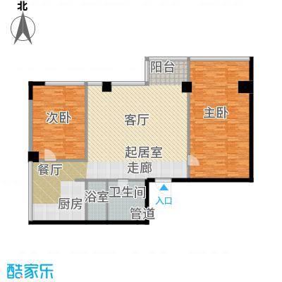 鼎泰精装公寓161.00㎡高层标准层户型