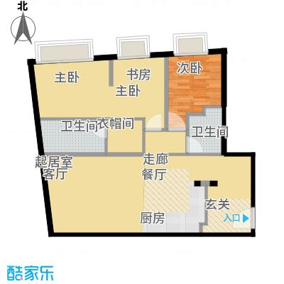 天津大悦城悦府Ⅱ期120.69㎡3号楼6-25层04户型