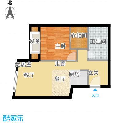 天津大悦城悦府Ⅱ期78.96㎡3号楼6-25层05户型