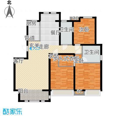 泰达御海151.98㎡洋房11、18号楼标准层A4户型