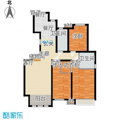 泰达御海137.42㎡洋房8、13号楼标准层C1户型