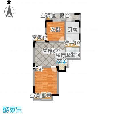 U公馆103.00㎡洋房标准层G1户型