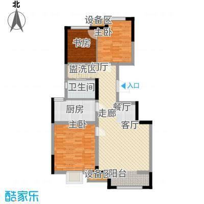 泰达风景89.18㎡9号楼标准层A户型