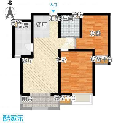 华城领秀92.00㎡三期5、9号楼标准层E户型