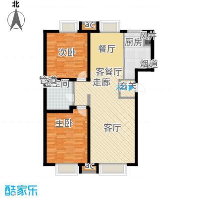 游龙逸海庭院104.50㎡二期公寓产品标准层A户型