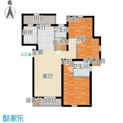 矽谷港湾140.81㎡知本家公寓标准层A2户型