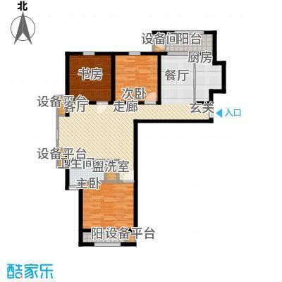 矽谷港湾120.91㎡知本家公寓标准层C1户型