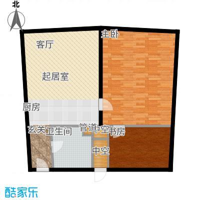 深圳湾92.00㎡高层标准层A、A`、B2户型