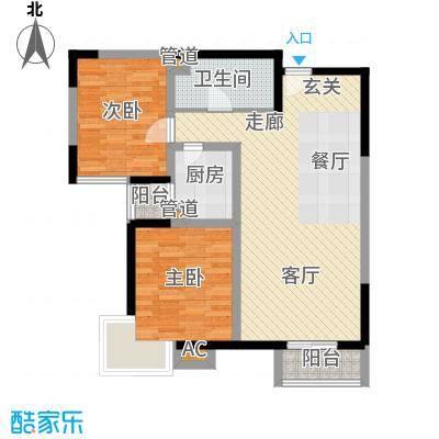 金厦水语花城94.64㎡一期1号楼标面积9464m户型