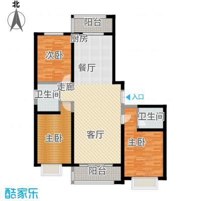 枫景湾家园164.55㎡高层5号楼标准层01户型