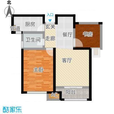 国耀上河城91.43㎡高层16#、17#、18#楼1-33层A3户型