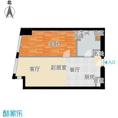 凯德国贸80.90㎡C区6-13层、15-29层03户型
