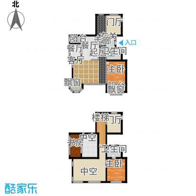 融创君澜融公馆88.00㎡洋房6号楼五跃六层F3户型